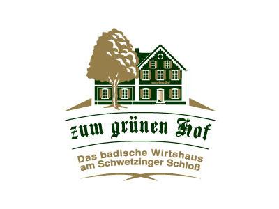 zum grunen Hof (the verdant Courtyard) gold drink eat tree chestnut building house food garden beer brasserie restaurant