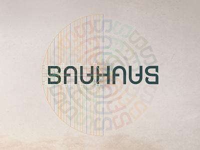 100 years of the Bauhaus art institution bauhaus100 bauhaus jubilee anniversary 100 art logodesigner negative space logo identity brand mark ambigram logo