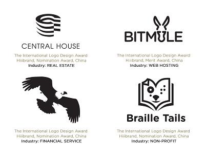 Peter Vasvari Awards Logos 4 awardwinner healing blind braille horse mustang wolf eagle capital animal mule building house nonprofit financial webhosting realestate identity logodesigner logo