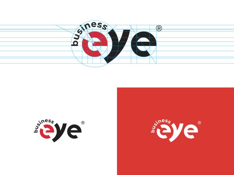 business eye brand logo workflow ui typogaphy product logo mark logotype logo information technology identity icon development consultant computing company branding brand identity brand design brand app