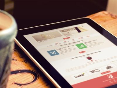 LowGravity.pl new Flat portfolio design ui flat wordpress basketball portfolio website
