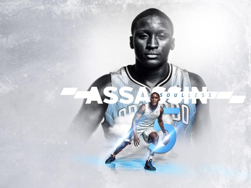 Soulless Assassin basketball design sports wallpaper flyer poster nba