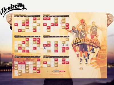 Beakcity - Pelicans Calendar basketball nba calendar wallpaper