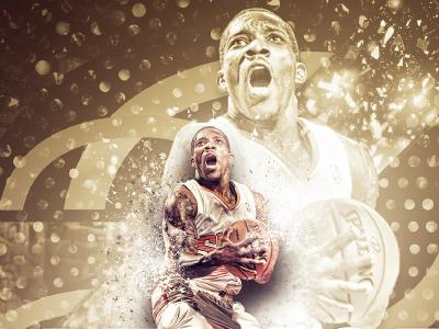 Eric Bledsoe - Magazine Cover basketball design suns nba cover magazine gold