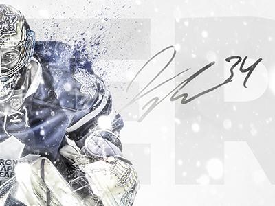 James Reimer nhl hockey toronto canada goalie winter cold