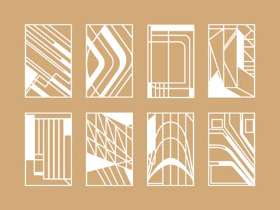 Frame Concepts shapes design abstract ui sketch concept frame mockup