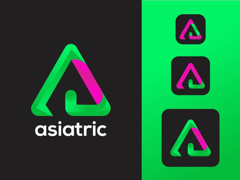 ABSTRACT A LOGO MARK web gradient creative logo graphicdesign logo idea gridlogo letter a logo logos logo trends 2020 branding trend logo mark brand colorful corporate modern design app brand identity logo