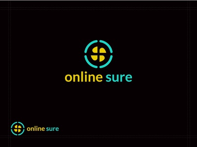 online sure logo - modern logo corporate identity apps icon colorful logo initial logo logo trends business logo ecommerce logo abstract logo modern logo vector corporate logo mark logo trends 2020 colorful brand identity dribble logos branding logo