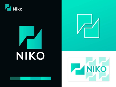 Niko branding logo concept - abstract logo mark busniess logo apps icon logo ideas modern logo design minimalist logo modern logo logodesign logotype vector abstract logo app colorful logo trends 2020 dribble modern logos logo mark logo branding brand identity