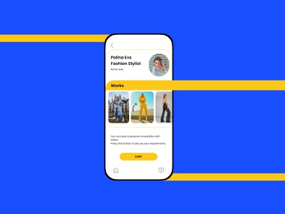 User Profile Design profile flat web design mobile ui app minimal vivid colors uiux ui design ui daily ui dailyuichallenge