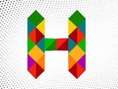 Low poly logo animation web app illustration vector typography minimal logo graphic design design