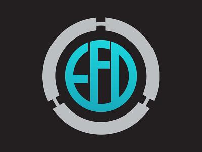 EFD Concept logo inspiratio. flat website web illustrator app ui ux icon vector animation typography design logo illustration branding minimal graphic design