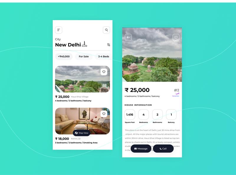 Wander - A Travel Experience App travel typography flat ux minimal app design ui uxdesign userinterface ui design