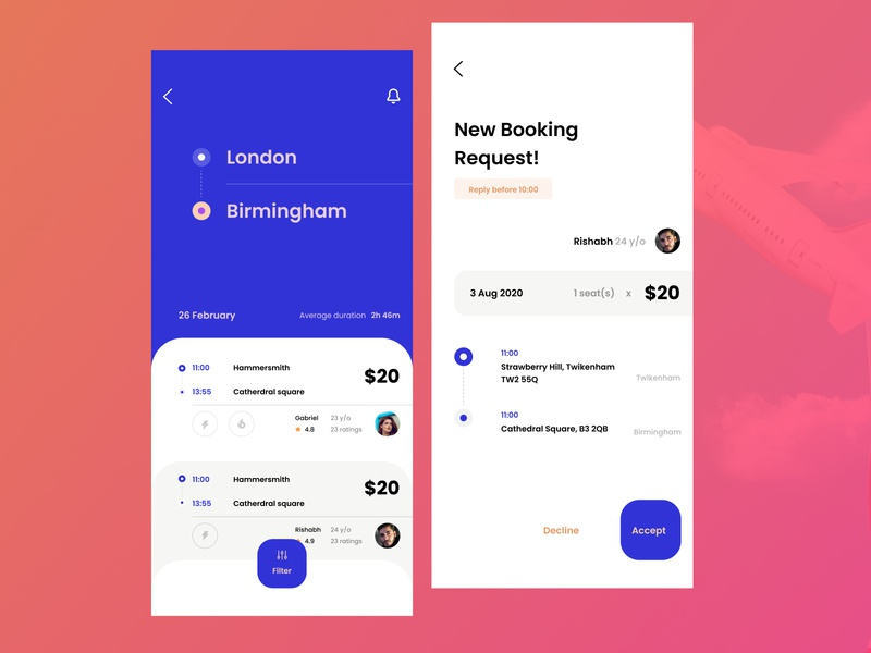 Glide - Flight Booking App flight booking flight search ticket booking flight app cleandesign clean ui ui travel app flat minimal uxdesign app userinterface ui design