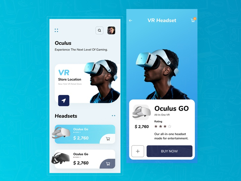NexGen- VR Interaction Design interface uiux interactive user interface design minimal colorful concept color design ui app userinterface ui design