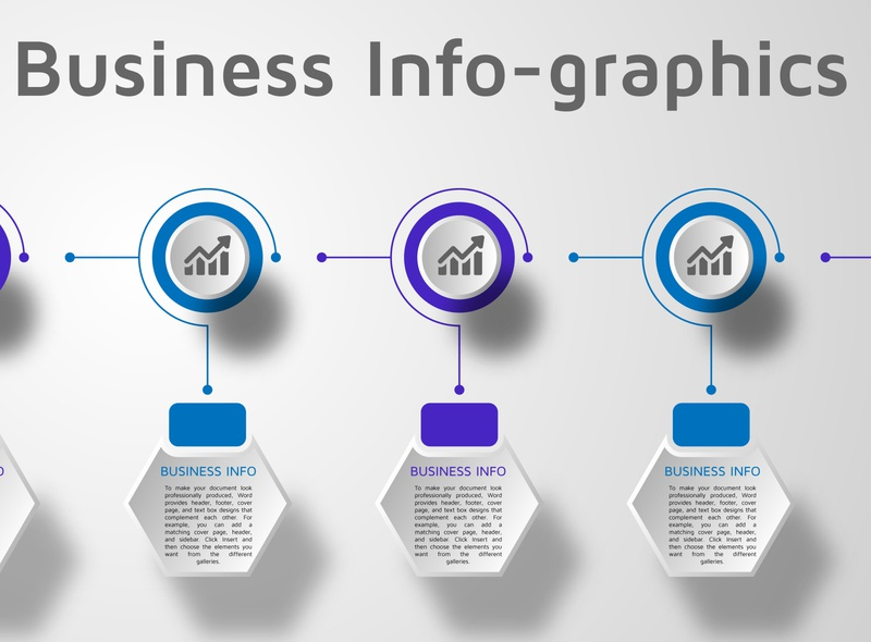Business Infographics illustration design info-graphics