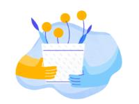 Singular illustration provide growth customers 2x