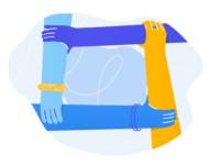 Singular illustration unify exceptional people 2x