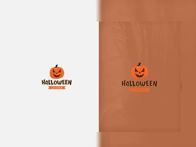 Halloween Loves - Minimalist Logo Design ninja designers logo designer modern logo minimalist logo halloween design halloween