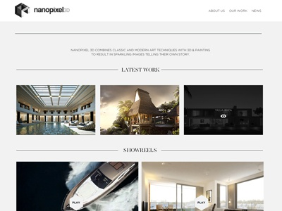 Nanopixel Designs Themes Templates And Downloadable Graphic Elements On Dribbble