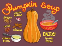 Рumpkin soup recipe