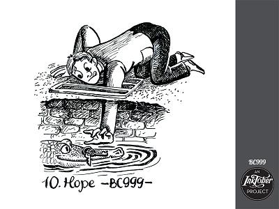 day10 inktober keys key crocodile man inktober2020 inktober human art ink comic bw animal childish character illustration