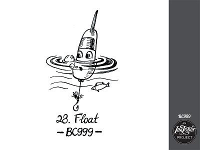 day28 inktober fishing fish river inktober2020 inktober art ink comic bw childish character illustration