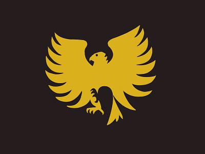 Wutang Logo redesign illustration design redesign wutang style music logo hiphop gold eagle bird animal