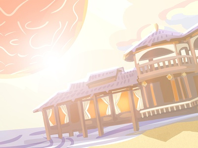 Summer bungalow