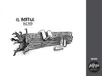 Day18 Inktober Bottle