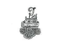 Emblem for the wood carver