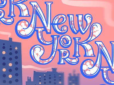 NewYork showusyourtype newyorkcity newyork lettering typography logo branding design illustration