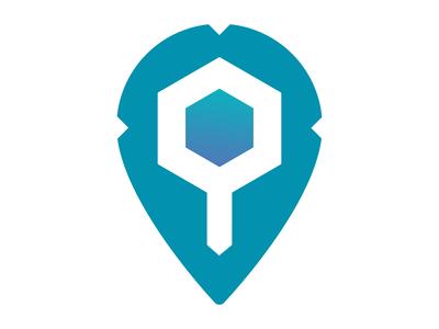 Pin logo exploration logo design branding