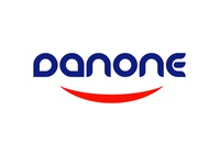 DANONE LOGO danone graphic designer graphic design redesign red white blue logo designer logo design designer illustration graphic graphics freelancer freelance art business design branding 2020