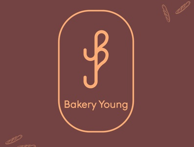 bakery young logo logos graphic designer graphic design bakery logo logodesign logo designer logo graphics graphic freelancer freelance business design branding 2020