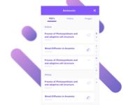 Education App - Bookmarks