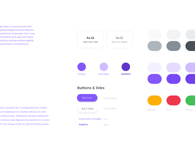 Free Wireframe Styleguide guide style free app books study education open wireframe quality ux design