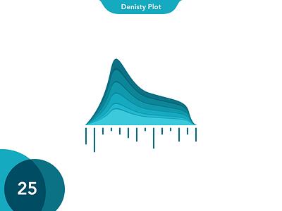 25 Density Plot dots lines overlay circle gradients bar pie notch intro charts