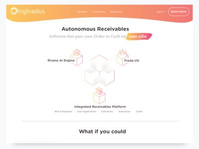 Highradius Homepage