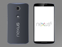 Motorola Nexus 6 Mockup