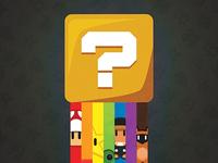 Mario Question Block Poster (WIP)