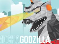 MechaGodzilla Poster (WIP)