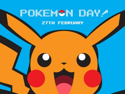 Pokemon Day pokeball celebrate illustration pokemon pokemonday