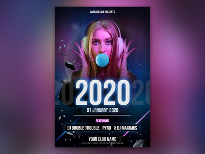 2020 Club Flyer Design design 2020
