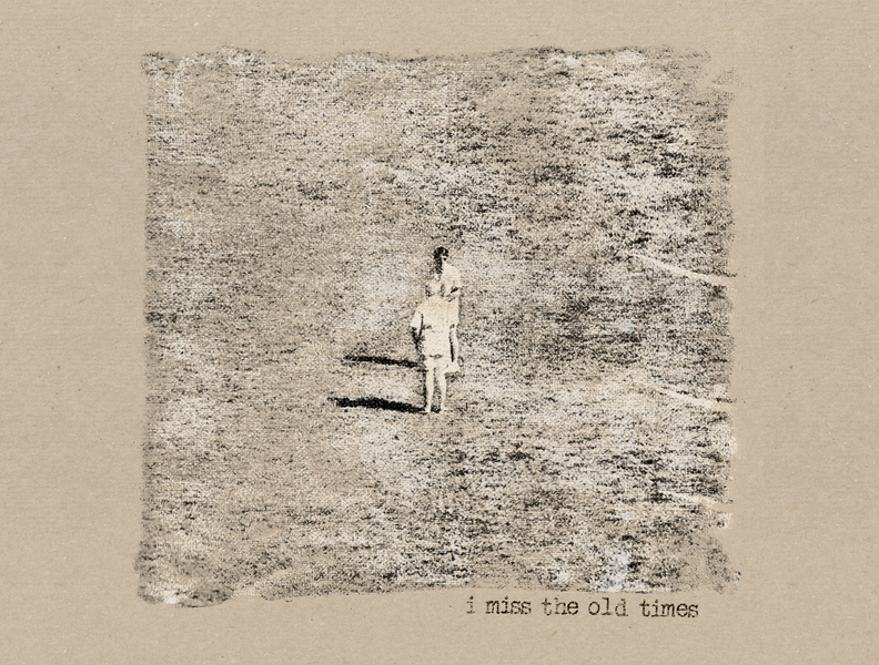 I Miss The Old Times Cover Art music design photoshop photography