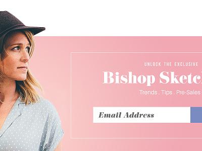Fashion Newsletter signup newsletter web design user interface ui typography magazine fashion editorial