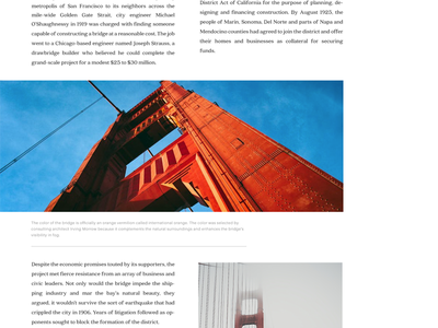 Editorial Article - 2 layout typography experiment web design article editorial user interface