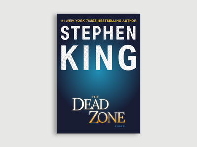 The Dead Zone Illustrated Cover stephen king print design vector illustration cover book sketch