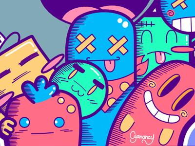 Doodle affinitydesigner fullcolor doodle