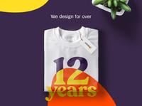 Creago™ - We design for over 12 years. mockups packaging print visual identity logo brand designer graphic studio branding agency